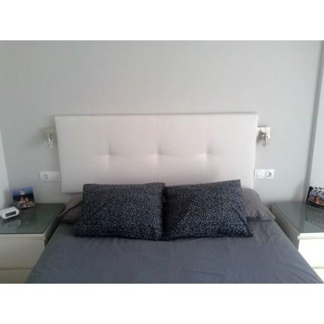 Cabecero de cama tapizado tapizado modelo 117 - Cabezal de cama tapizado ...