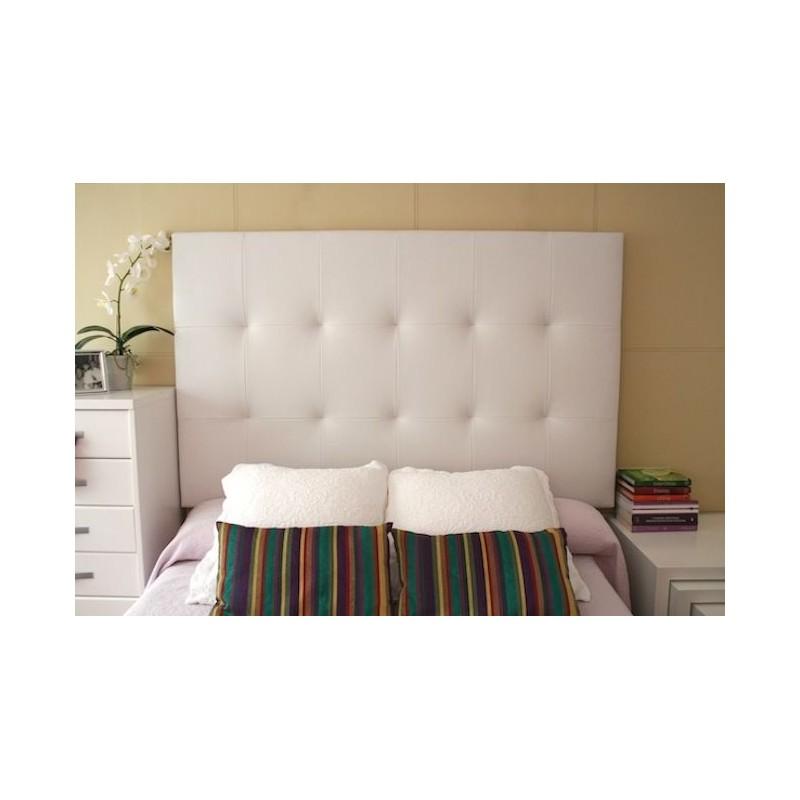 Cabecero de cama tapizado tapizado modelo 130 for Cabeceros de cama tapizados