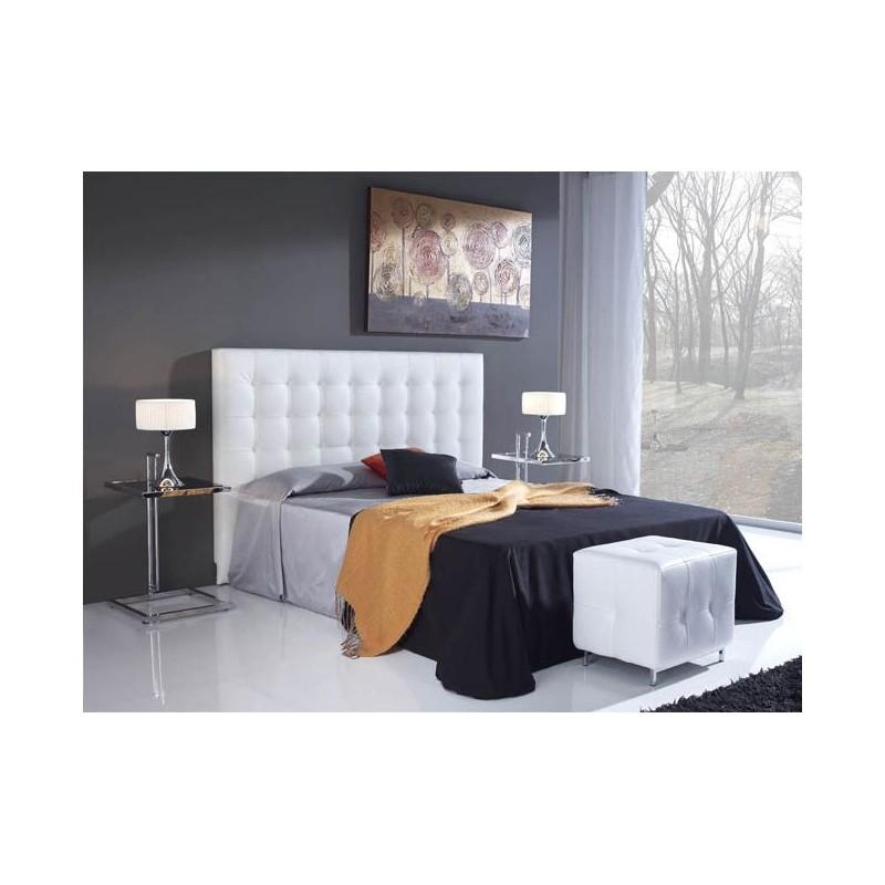 Cabecero de cama tapizado tapizado modelo 103 - Telas para forrar cabecero cama ...
