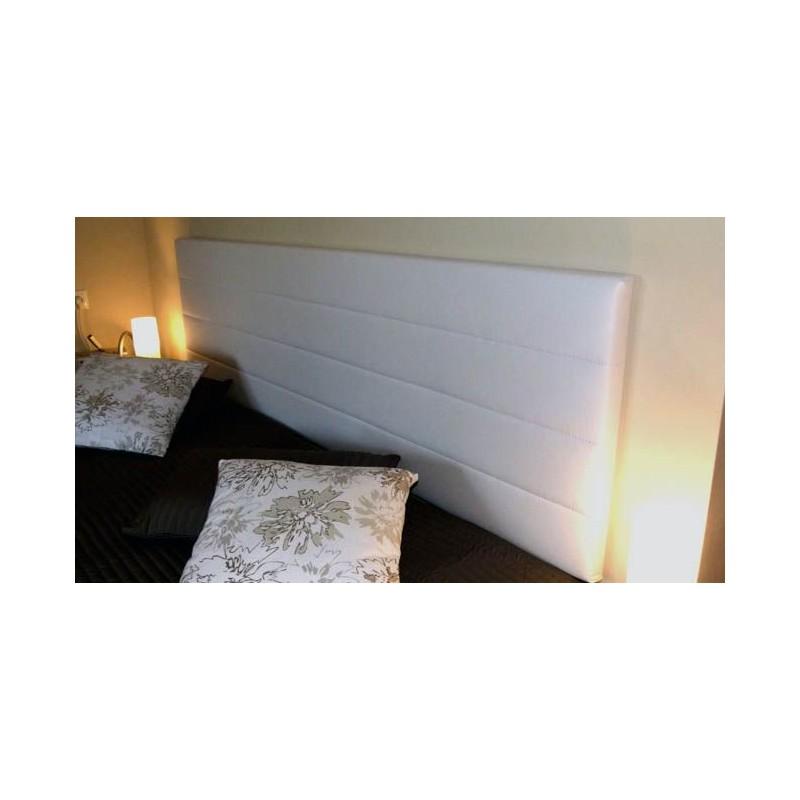 Cabecero de cama tapizado tapizado modelo 121 - Telas para cabeceros de cama ...