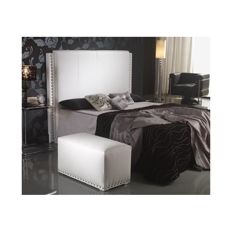 Cabecero de cama tapizado tapizado modelo 112 - Cabeceros de cama tapizados en tela ...
