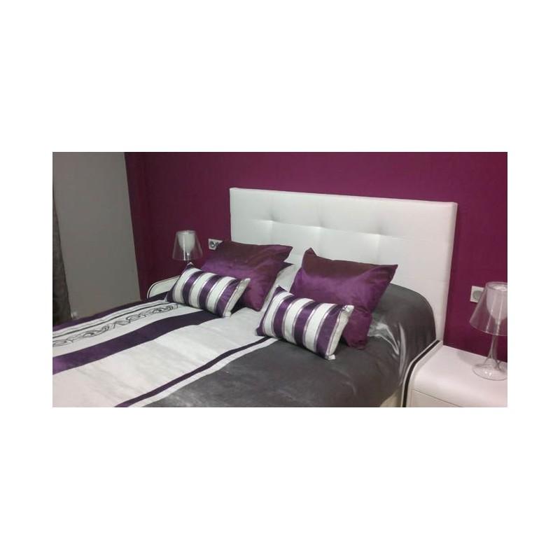 Cabecero de cama tapizado tapizado modelo 149 - Cabeceros de cama manuales ...