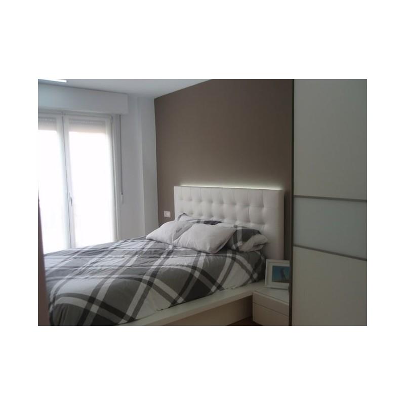 Cabecero de cama tapizado tapizado modelo 129 - Cabecero de cama tapizado ...
