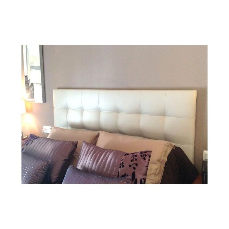 Cabecero de cama tapizado tapizado modelo 124 - Cabeceros de cama blancos ...
