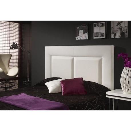 Cabecero de cama tapizado tapizado modelo 136 for Cabeceros de cama manuales
