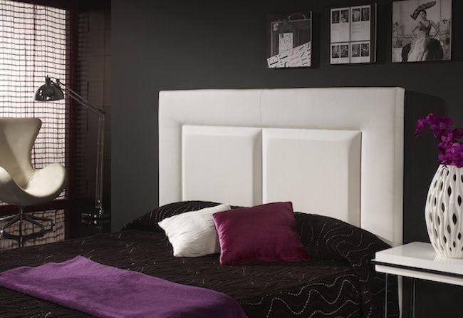 Cabeceros de camas modernos cabecero blanco cabecero de - Muebles boom cabeceros ...