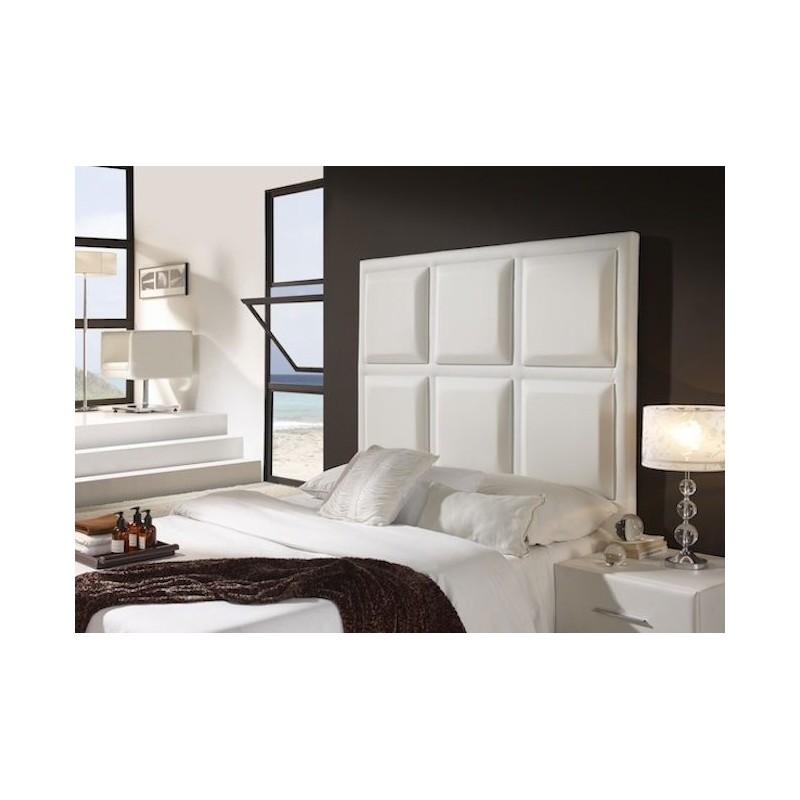 Cabecero de cama tapizado tapizado modelo 139 for Cabeceros de cama manuales
