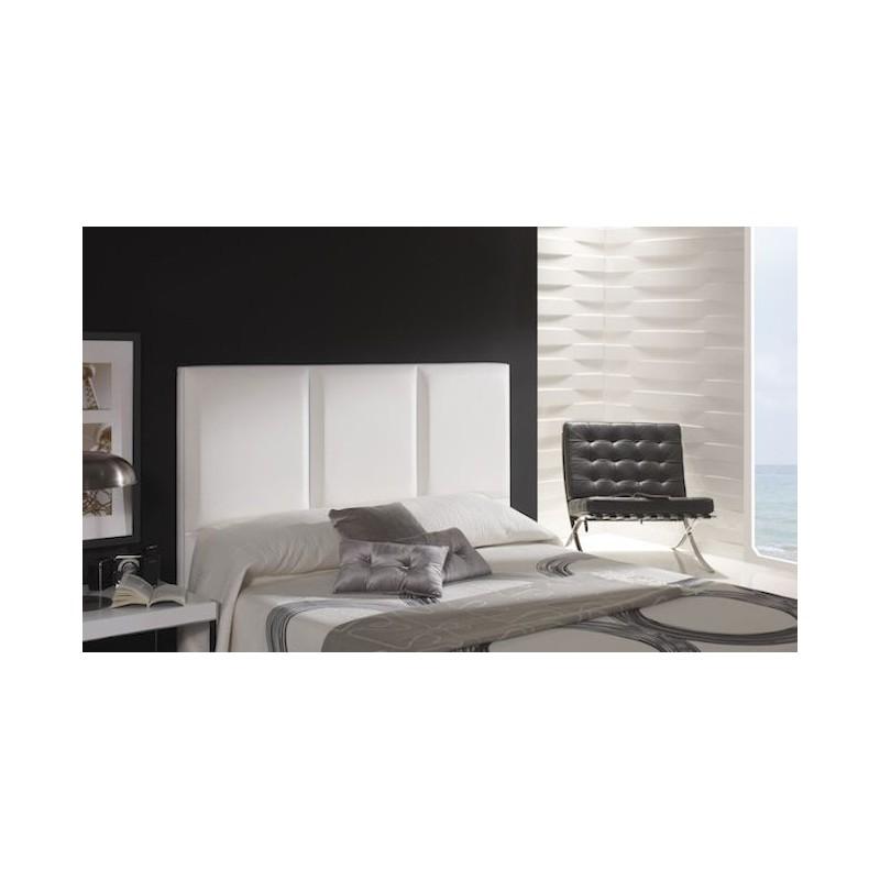 Cabecero de cama tapizado tapizado modelo 140 - Cabeceros de camas modernos ...