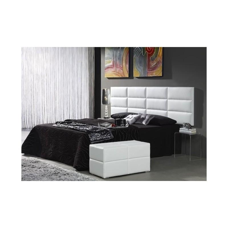 Cabecero de cama tapizado tapizado modelo 105 - Cabeceros de cama tapizados en piel ...
