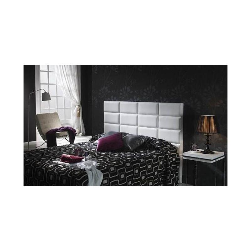 Cabecero de cama tapizado tapizado modelo 111 - Cabeceros de cama tapizados en tela ...