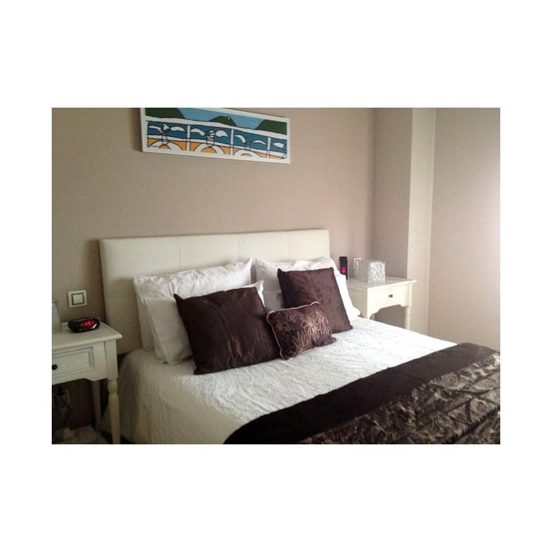 Cabecero de cama tapizado tapizado modelo 117 - Cabeceros de cama manuales ...
