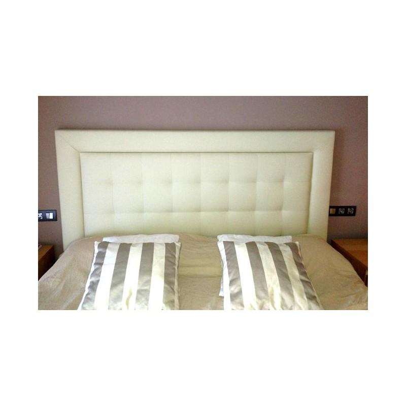 Cabecero de cama tapizado tapizado modelo 101 - Modelos de cabeceros ...